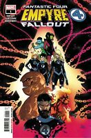 Empyre Fallout Fantastic Four #1 Comic Book 2020 - Marvel