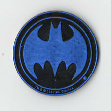 Waddingtons Batman Pog Slammer Kini Circa 1995 - blue variety