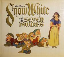 SNOW WHITE & THE SEVEN DWARFS 1979 Hardcover Walt Disney Productions Movie Book