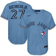 Молодежь Toronto Blue Jays Владимир Герреро мл. порошок голубой альтернативные MLB Джерси