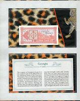 *Most Treasured Banknotes Georgia 1993 1 Laris UNC P 33 Prefix 205/2