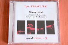 Stravinski by Stravinski Sacre Printemps Psaumes Histoire soldat - CD Sony Neuf
