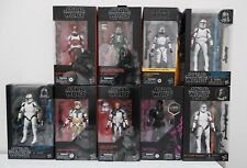 Star Wars Clone Troopers Black Series Collection
