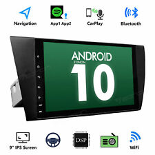 """Android 10 9"""" Car Stereo GPS System Apple Carplay WIFI 4G for BMW 335d 2009 2010"""