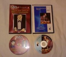 Albert Goshman 2 Dvd Lot - International Magic Lecture Coin Magic Misdirection