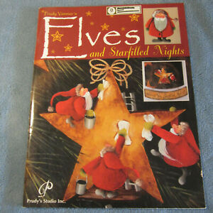 """Prudy Vannier """"Elves & Starfilled Nights"""" Decorative Tole Painting Book"""