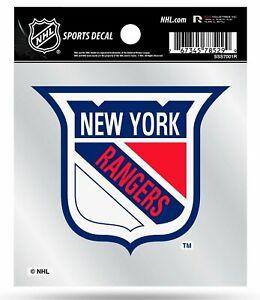 New York Rangers Retro Logo Premium 4x4 Decal Vinyl Auto Home Sticker Hockey