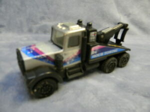 VINTAGE 1970'S TONKA 24-HOUR TOW TRUCK W/HOOK #58150 METAL PICKUP 7-INCH TOY