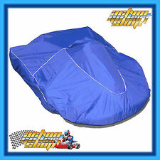 GO KART BLUE RACE KART COVER WATERPROOF & ELASTIC WAIST BY ITALSPORT NEW
