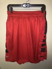Nike Elite Shorts With Pockets Red/Black Mens Size Extra Large XL Dri Fit