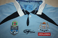 NSW BLUES state of origin mens Classic Jersey, M-3XL, WITH DEFECTS