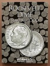 Roosevelt Dime Starting 2000 - Dime Folder Album Collecting - H. E. Harris & Co
