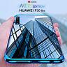 COVER per Huawei P30 Lite New Edition CUSTODIA + PELLICOLA VETRO TEMPERATO 9H