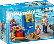 Playmobil 5399 City Action Family at Check-In Playset
