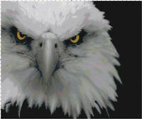 Eagle Handmade DIGITAL Counted Cross-Stitch Pattern Needlepoint Chart