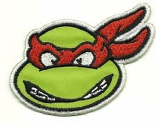 Teenage Mutant Ninja Turtles RAPHAEL Cartoon Appliques Embroidery Iron on Patch