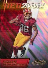 2016 ABSOLUTE RED ZONE NFL FOOTBALL CARD #18 JORDAN REED REDSKINS