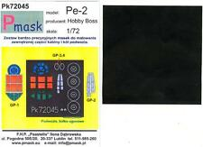 Model Maker 1/72 PETLYAKOV Pe-2 Paint Mask Set for Hobby Boss Kit