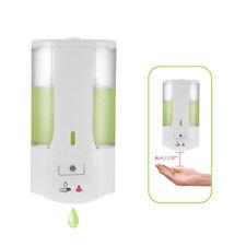 Automatic Soap Dispenser Wall Mounted Sensor Touchless Handsfree Bathroom 400ml