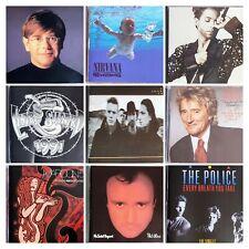 Cd Lot - Hard Rock, Pop, Metal: Stewart, Aerosmith, Elton. Pick your selections