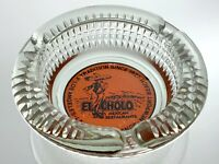 Vintage Glass Ashtray Round El Cholo Mexican Restaurants Los Angeles U537