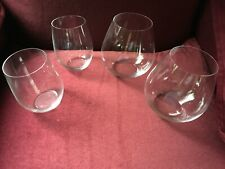 RIEDEL O WINE TUMBLER STEMLESS RED AND WHITE WINE - SET OF 4