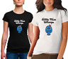 LADIES Little Miss Whoops Tshirt cotton