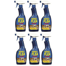 More details for 6x household flea killer spray trigger tick killing home mites cats dogs 500ml