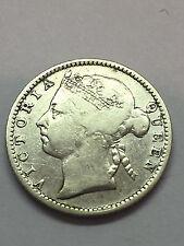 1898 Straits Settlements 10 cents #1397