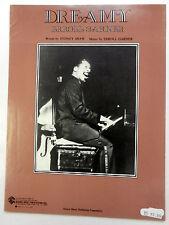 ERROLL GARNER Sheet Music DREAMY Warner Bros. Publ. 50's 60's JAZZ Piano SWING