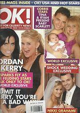 OK magazine Jordan Kerry Katona Nikki Grahame Tina OBrien Ryan Thomas Mel B