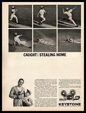 1963 Ralph Kiner Pittsburgh Pirates Keystone K-14 Movie Camera Vintage Print Ad