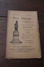 1910 Pro Alésia N°49 Fouilles Alise Matruchot Société des sciences archéologie