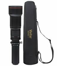 Vivitar 650-1300mm f/8-16 Telephoto Lens for Nikon SLR camera D3100 D3000 D7500