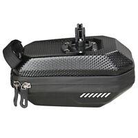 Bicycle Bag Large Capacity Hard Shell Saddle Bag Black 20 * 10 * 9CM 1 Item