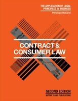 LNP - Contract and Consumer law  2019 - Australian legal framework