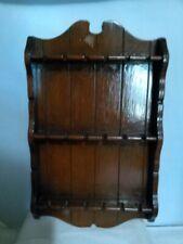 Wooden Display Souvenir Spoon Holder Display Rack Holds 18 spoons been