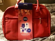 Nivea head to toe beauty weekend bag mothers day/ birthday shower skin gift set