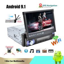 Android 9.1 Single 1Din Car Radio Audio Stereo Multimedia MP5 Player GPS Wifi