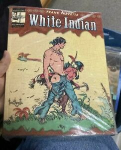 The Complete Frazetta WHITE INDIAN  byJ. David: Editor) Fraze Frank (Spurlock|