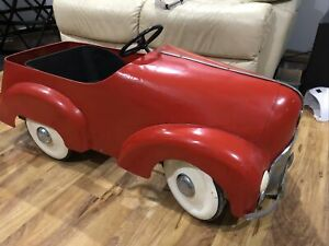 VINTAGE 1950's CYCLOPS CLlPPER RESTORED PEDAL CAR  RARELY OFFERED Antique