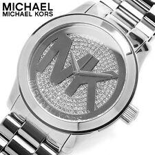 0Michael Kors Women's Parker MK5544 Silver Stainless-Steel Quartz Dress Watch