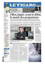 Le Figaro 24.11.2016 N°22485*Juppé/FILLON*POLICE*USA*ESPACE*BREXIT*START-UP*SARK