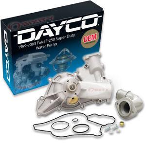 Dayco Engine Water Pump for 1999-2003 Ford F-250 Super Duty 7.3L V8 Coolant hi