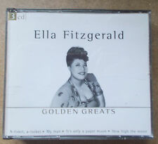 HUGE COLLECTION OF Golden Greats by Ella Fitzgerald ~ 3 CD Set