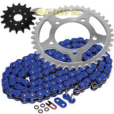 Blue O-Ring Drive Chain & Sprockets Kit Fits SUZUKI GS500E 1989-2000