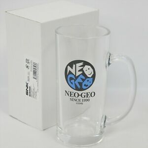 "NEOGEO LABEL Beer Mug ""Brand New"" Neo Geo Official made in Japan 1450"