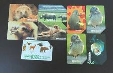 ITALY Phonecards - 9 x Assorted Animal Cards