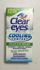 Clear Eyes Cooling Comfort Itchy Eye Relief Eye Drops 0.5 Fl. Oz