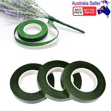 2 Rolls Self Adhesive Florist Floral Tape Corsages DIY Craft Supply 12MM *30Y OZ